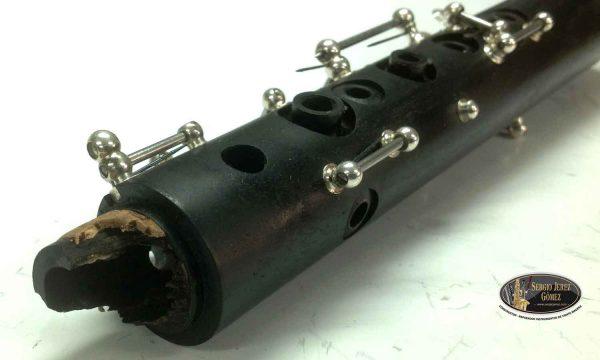 Arreglo espiga rota de un clarinete